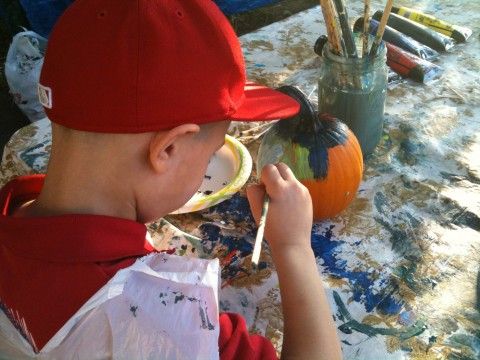 Pumpkin painting reveals much local talent!